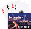 Los Angeles/Hollywood Searchlights Playing Cards