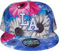Los Angeles Baseball Cap, Floral