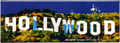 Hollywood Sign Photo Magnet - Panorama