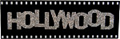 Hollywood Sign Fridge Magnet on Film Strip