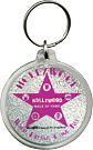 Hollywood Walk of Fame Star Acrylic Key Chain - Pink Glitter