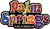 Palm Springs PVC Magnet