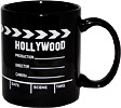 Hollywood Souvenir Mug - Director's Clapboard, Black
