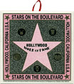Hollywood Walk of Fame - Souvenir Tile Trivet