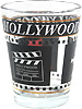 Hollywood Clapboard Shot Glass
