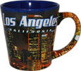 Los Angeles City Lights Souvenir - Cone Shaped Mug