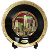 Los Angeles Chokin Plate - Red/Black, 6 D