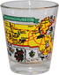 Massachusetts State Map Souvenir Shot Glass