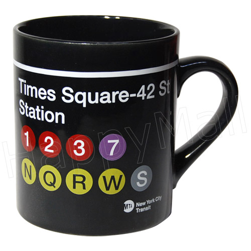Nyc Subway Sign Mug Times Square