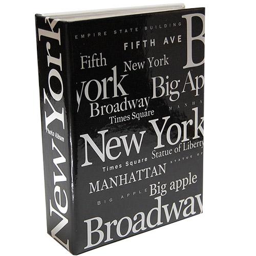 new york city photo album b w letter. Black Bedroom Furniture Sets. Home Design Ideas