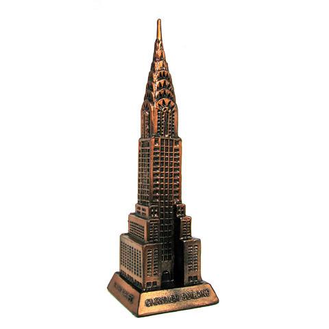"""Chrysler For Sale >> Chrysler Building Statue - 3D Model 10""""H"""