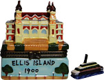 Ellis Island Historical Building, Trinket Box