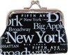 New York Letter Clip Coin Purse