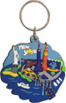 New York Cut Out Souvenir Key Chain