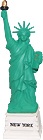 Mini Statue of Liberty Model, 4.5H