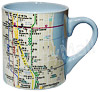 NYC Subway Map Mug