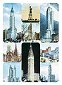 New York Postcards - Set of 9 Museum Magnets