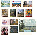 Claude Monet, Porfolio Postcards