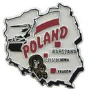 Poland Souvenir Fridge Magnet