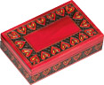 Wooden Polish Box - Heart Jewelry Box, 8 L