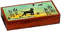 Carved Wooden Box - Black Labrador Box, 8 L