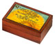 Carved Wood Box - Serenity Payer Box, 5-7/8 L