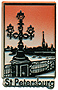 St. Petersburg Souvenir - Fridge Magnet