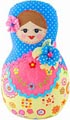 Russian Doll Decorative Plush - 8.5H