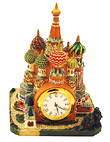 St. Basil's Cathedral 3D Model - Table Clock