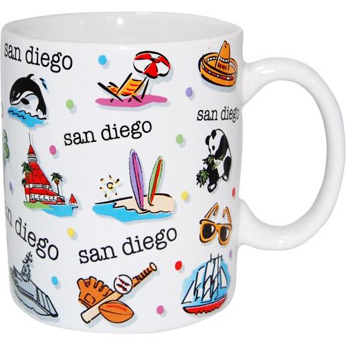 San Diego Souvenir Ceramic Mug