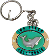 San Diego Key Chain, Spinning Dolphin