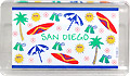 San Diego icon souvenir fridge magnet