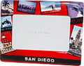 San Diego Post Card Picture Frame, 3.25 x 5 Photo