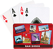 San Diego Playing Cards, Red Poster