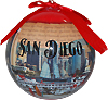 San Diego Ornament Ball