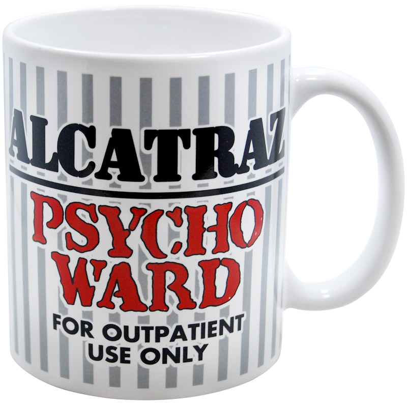 Alcatraz Quot Psycho Ward Quot 11oz Mug