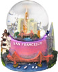 San Francisco - Mini Snow Globe, 2.75 H