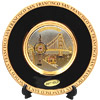 San Francisco Chokin Plate in Black, 6 D