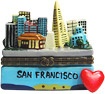 San Francisco City View - Porcelain Trinket Box