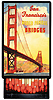 Vintage Golden Gate Bridge on Little Lacquer Box