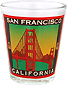 Golden Gate Bridge Poster Shot Glass