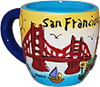 San Francisco Puff Mini Mug