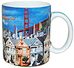 San Francisco Photo Collage Souvenir Coffee Mug