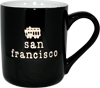 San Francisco Souvenir Mug, Black