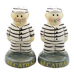 Alcatraz Inmate Style Salt and Pepper Set