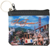 San Francisco Collage Small Zip Purse