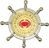 San Francisco Fisherman's Wharf Souvneir Fridge Magnet, Metal