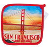 Golden Gate Bridge Design Pot Mitt