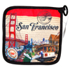 San Francisco Themed Pot Mitt