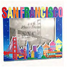 San Francisco Skyline Photo Frame, 4x6